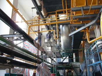 热电厂全厂钢结构防腐