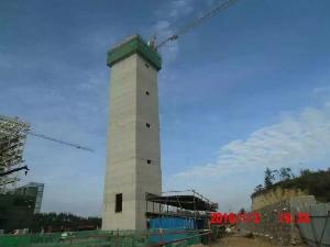 80米方烟囱新建