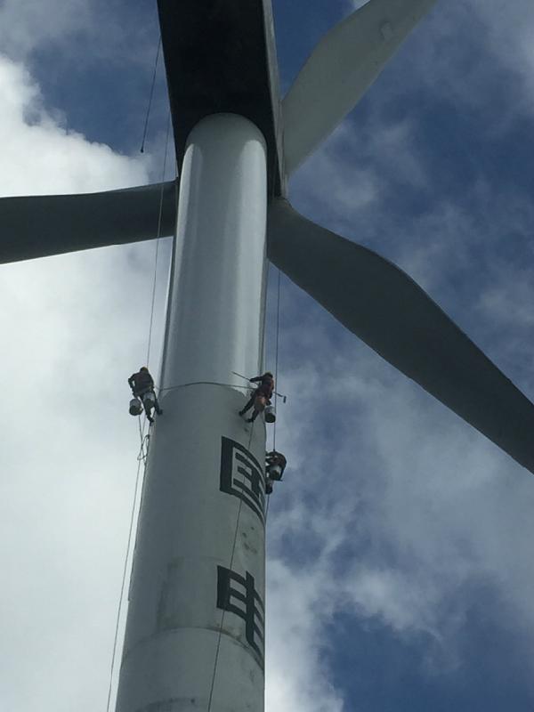 风电塔筒防腐维护